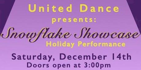 Snowflake Showcase tickets