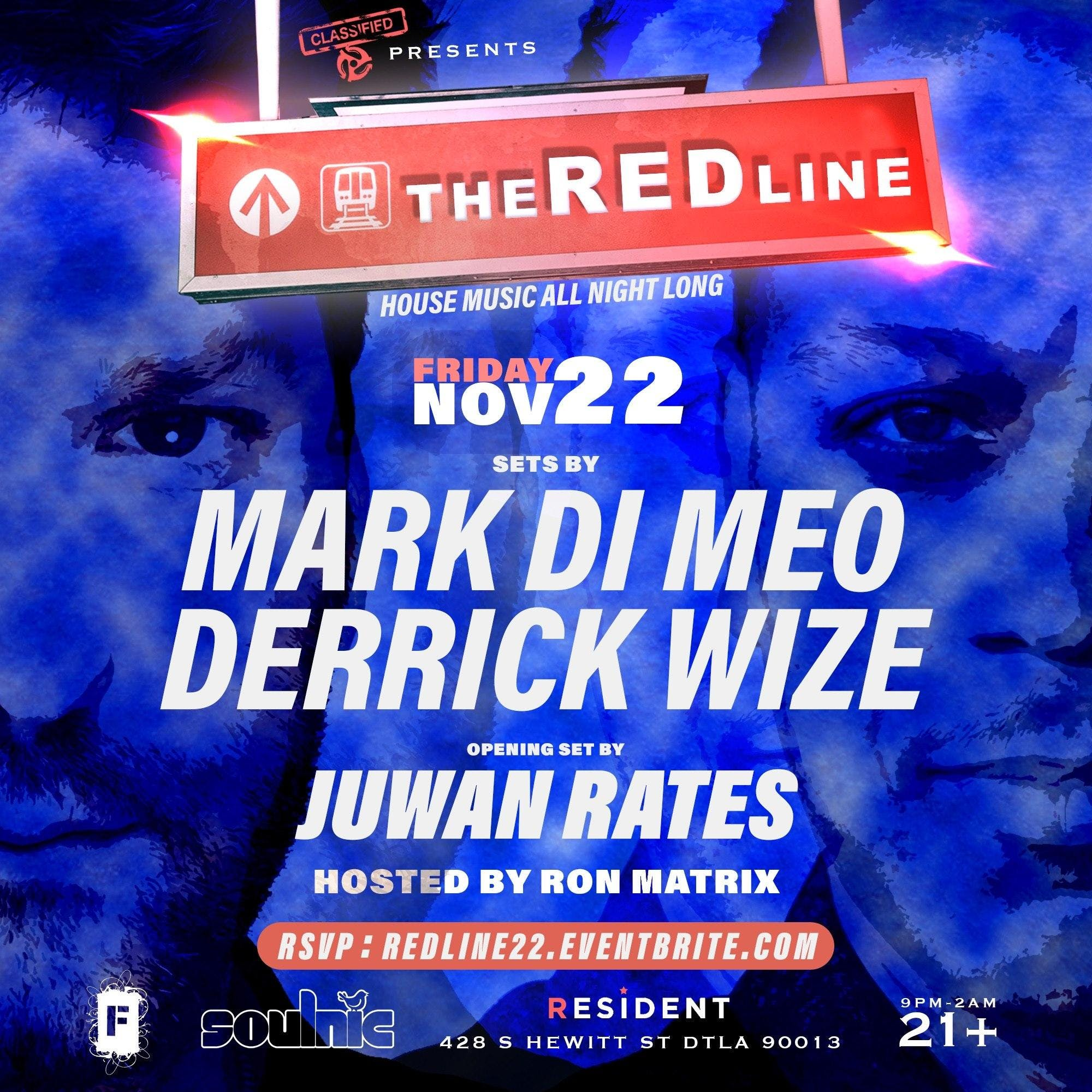 The RED Line - Mark Di Meo & Derrick Wize