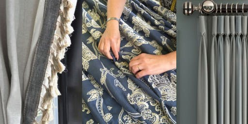 BEGINNERS SOFT FURNISHINGS: HOW TO MAKE A SIMPLE STYLISH CURTAIN - ALL DAY SUNDAY COURSE