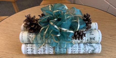 DIY Holiday Centerpiece tickets