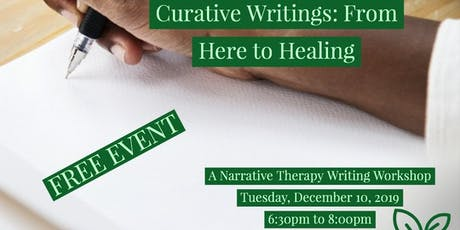 Curative Writings: From Here to Healing tickets