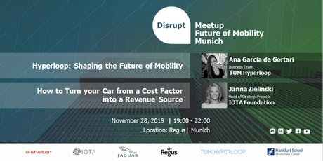 Hyperloops & Self-driving Cars - Are Radical Solutions the Future of Mobility? tickets