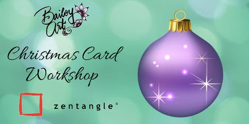 Tangled Christmas Cards - Two Hour Adult Workshop (Step 2 Equivalent)