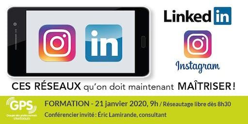 Instagram et LInkedin... en mode développement d'affaires!