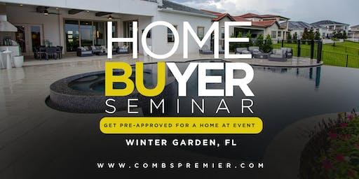Homebuyer Seminar - Combs Premier Realty Group