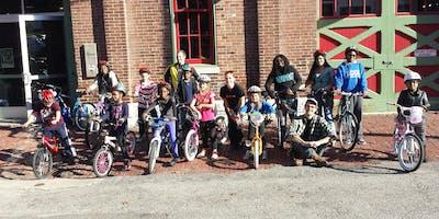 BWorks Earn-a-Bike FREE - Saturday 10-12 pm, starting November 9