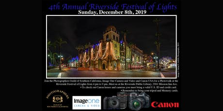 Shoot the Festival of Lights with Canon! tickets