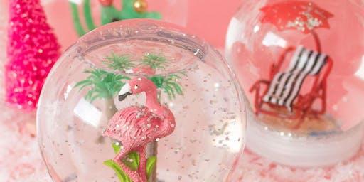 Let it Snow Globe: DIY Globe Making - Fashion Island