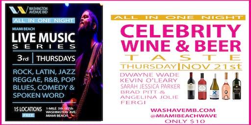 WAVE Live Music Series and Wine & Beer Taste!