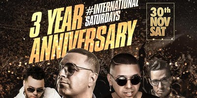 3 Year Anniversary Fusion Lounge Celebration