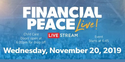 RSVP For Free Child Care - Financial Peace Livestream - St Gabriel Church