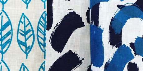 Fabric printing workshop with Emma Purdie tickets