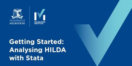 Getting started: Analysing HILDA with Stata tickets