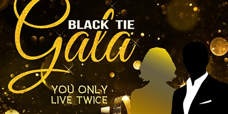 'You Only Live Twice'  Black Tie Gala tickets