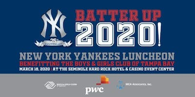 2020 New York Yankees Luncheon - Boys and Girls Clubs of Tampa Bay