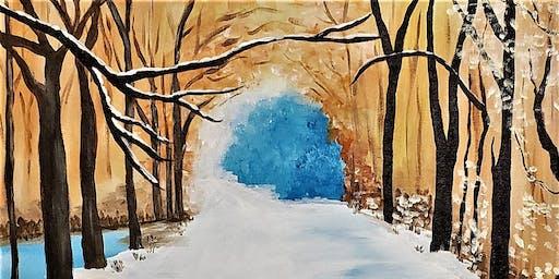 Winter Walk with Painting & Vino Sacramento