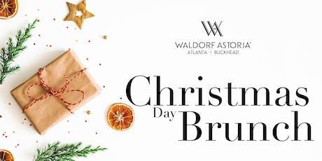 Christmas Day Brunch  Buffet at the Waldorf Astoria Atlanta Buckhead tickets