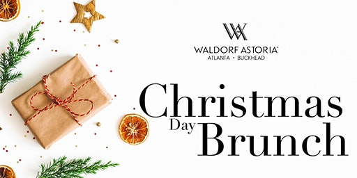 Christmas Day Brunch  Buffet at the Waldorf Astoria Atlanta Buckhead