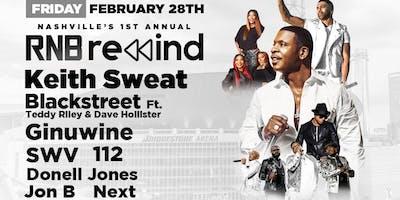Keith Sweat, Blackstreet, SWV, Ginuwine, 112, Jon B & more