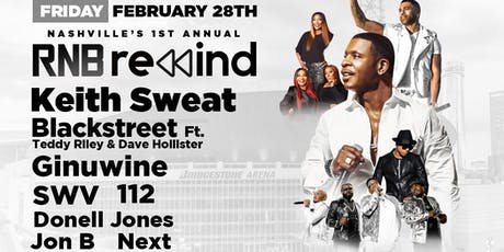 Keith Sweat, Blackstreet, SWV, Ginuwine, 112, Jon B & more tickets