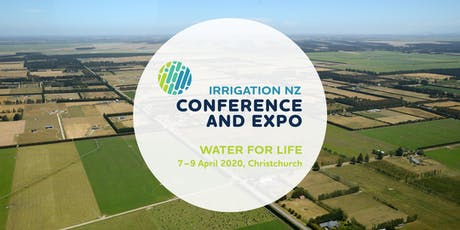 IrrigationNZ Water for Life Conference 2020 tickets