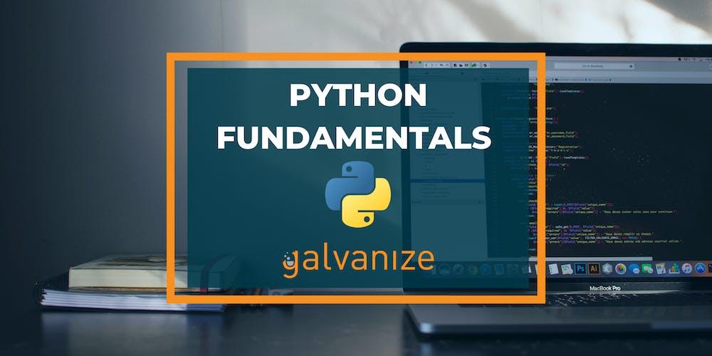 Python Fundamentals: Accelerated (12/2/19 - 12/19/19)