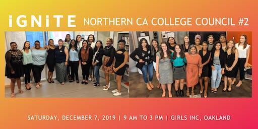 Holiday & Study Jam Themed Northern CA College Council #2