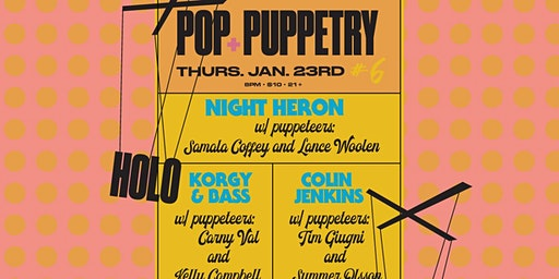 POP + PUPPETRY
