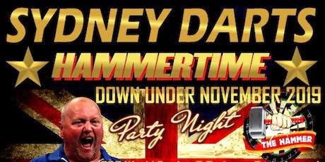 Sydney Darts Hammertime - Western Sydney tickets
