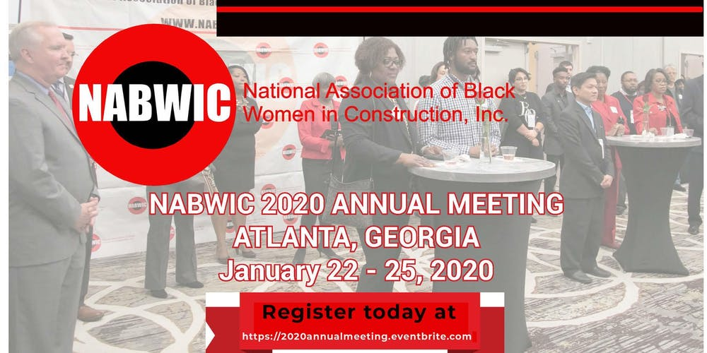 Atlanta Events Chedule 2020.Nabwic Annual Meeting 2020 Tickets Wed Jan 22 2020 At 6