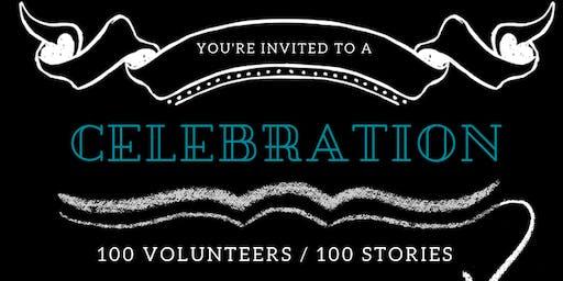 100 Volunteers Celebration