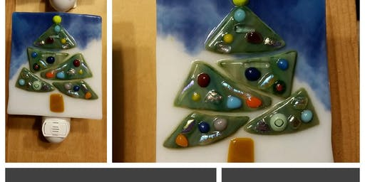 SOLD OUT Christmas Tree Nightlight Workshop Spoons in Canton