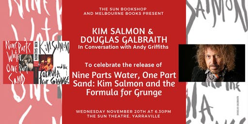 Kim Salmon and Douglas Galbraith In Conversation with Andy Griffiths