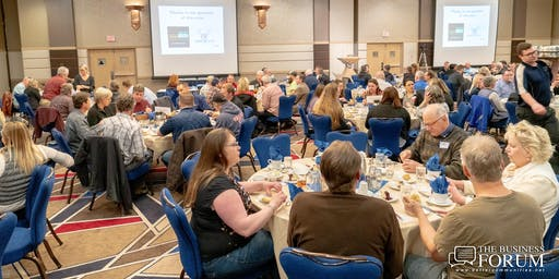 THE BUSINESS FORUM: VISION AND BEYOND--From Coeur d'Alene to Silicon Valley