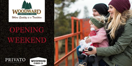 Opening Weekend at Woodward Christmas Trees tickets