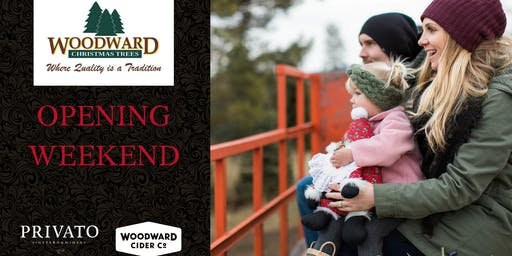 Opening Weekend at Woodward Christmas Trees