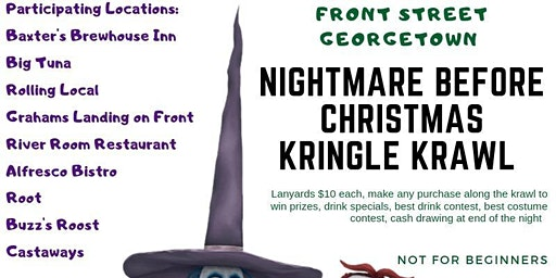 The Nightmare before Christmas Kringle Krawl!