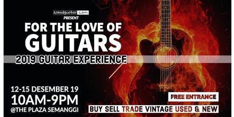 Guitar Experience 2019 tickets
