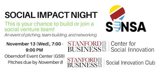 Social Impact Night