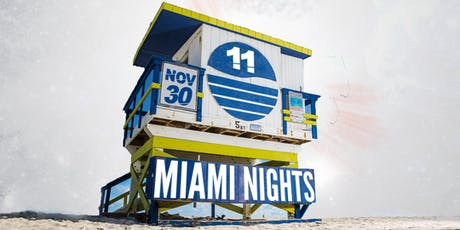 Miami Nights 11 ; Reggaeton -  Salsa - Top40 & more ! tickets