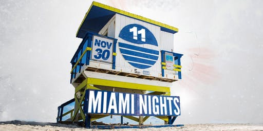 Miami Nights 11 ; Reggaeton -  Salsa - Top40 & more !