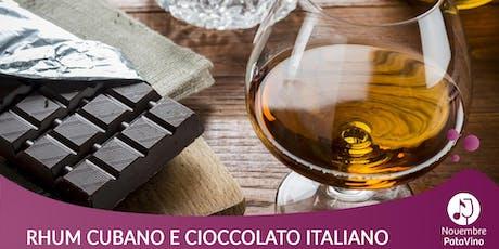 Il Ron Caney incontra i maestri cioccolatieri italiani biglietti