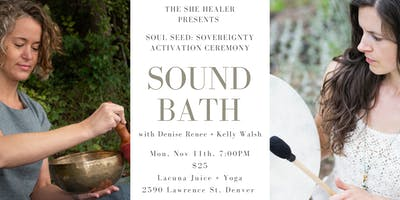 Sound Bath: Sovereignty Activation Ceremony