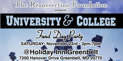 University and College Fund Day Party
