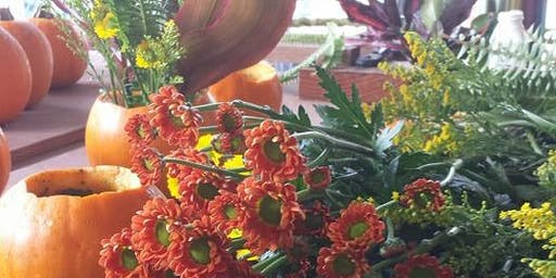 D.I.Y. Fall Floral Centerpieces