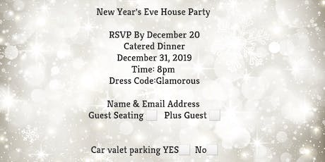 Upstate New year eve dinner party  tickets