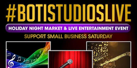 Small Business Saturday~Holiday Night Market & Live Entertainment Event tickets