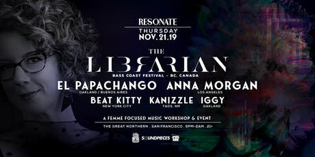 Resonate: A Femme Focused Music Workshop & Event ft. The Librarian and more tickets