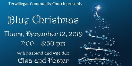 Terwillegar Community Church Blue Christmas