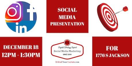 Social Media Is For Small Biz Presentation tickets